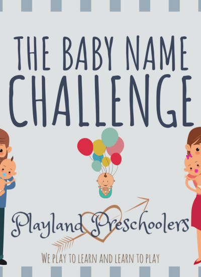 Baby Name Challenge – Names I Love