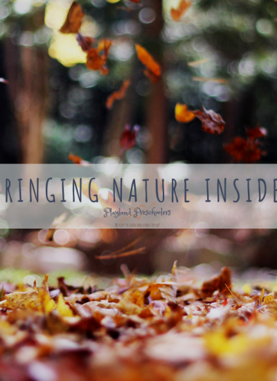 Bringing Nature Inside