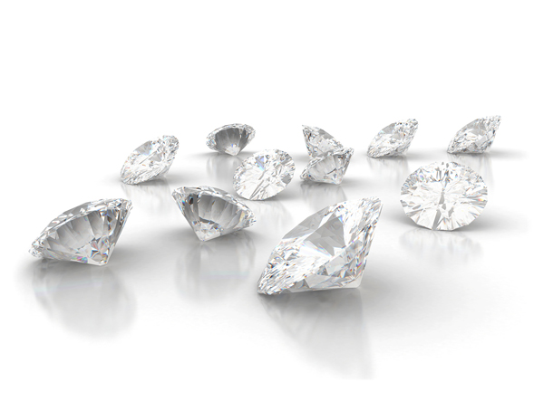 A large selection of diamonds to suit your perfect engagement ring.