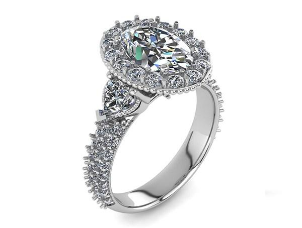 A wide variety of engagement rings Baltimore MD loves, such as eternity rings, Tacori and other brands, along with our custom designed engagement rings.
