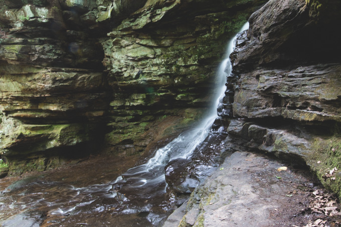 ohio, waterfall,