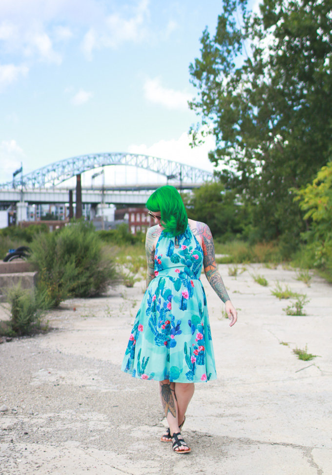 the dainty squid, kaylah doolan, fashion blog, cleveland blogger