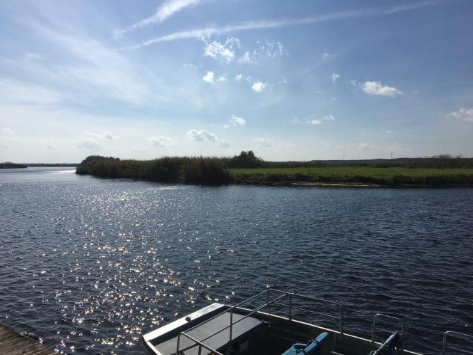 Florida vacation on an airboat