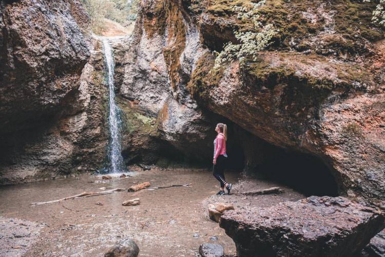 Grotto Falls is one of the things to do in Utah