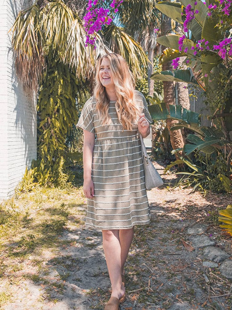 Easter Sunday dresses with scalloped lace