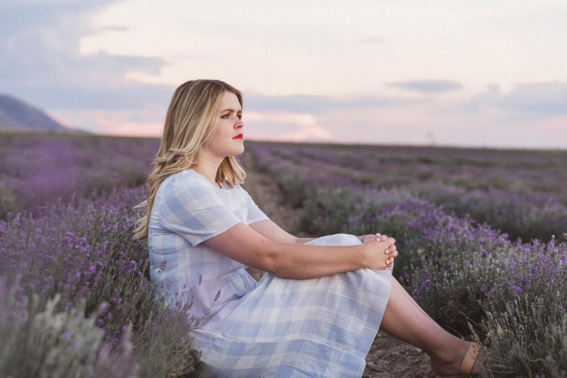 The lavender fields is one of the things to do in Utah