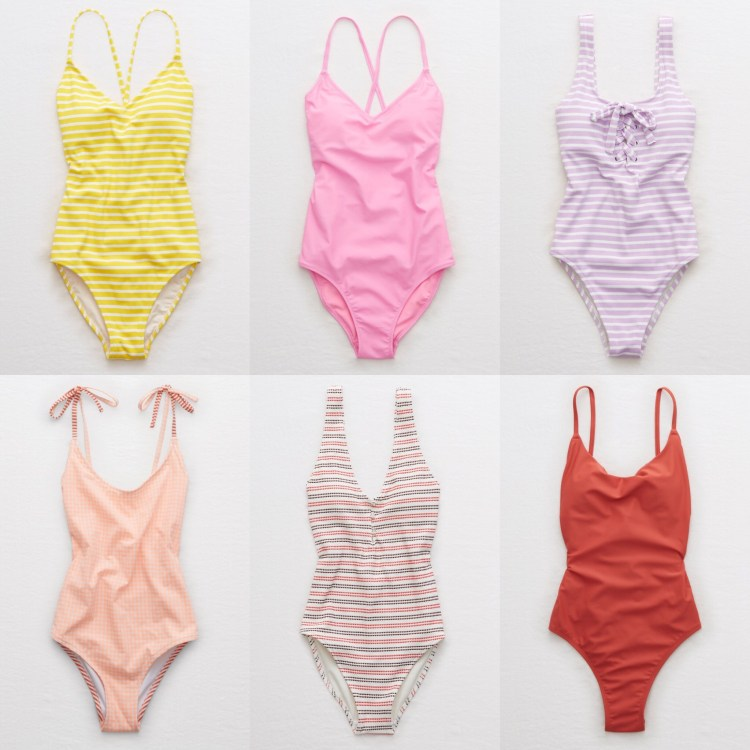 cute one piece swimsuits from aerie