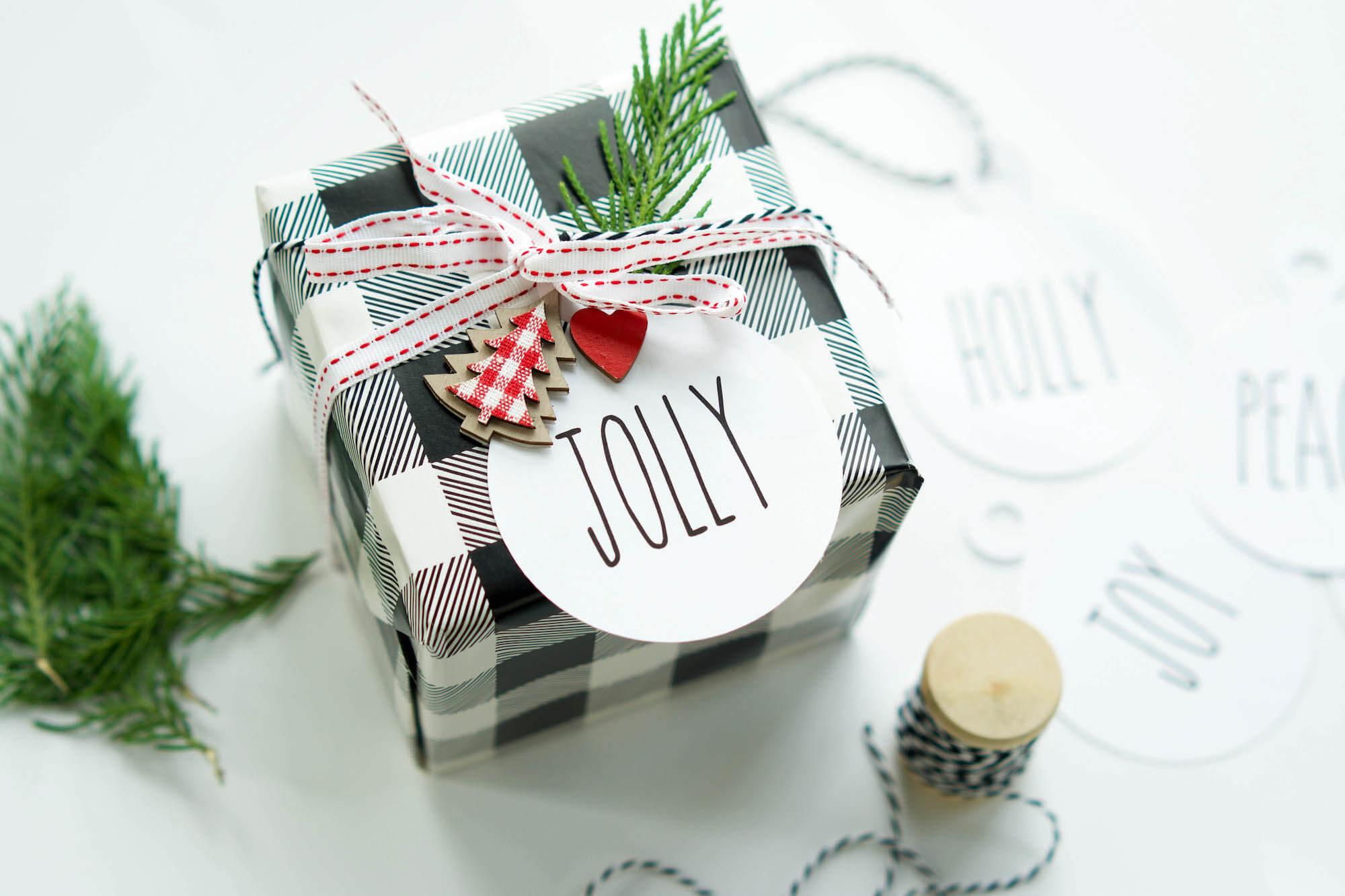 Farmhouse Style Gift Tags
