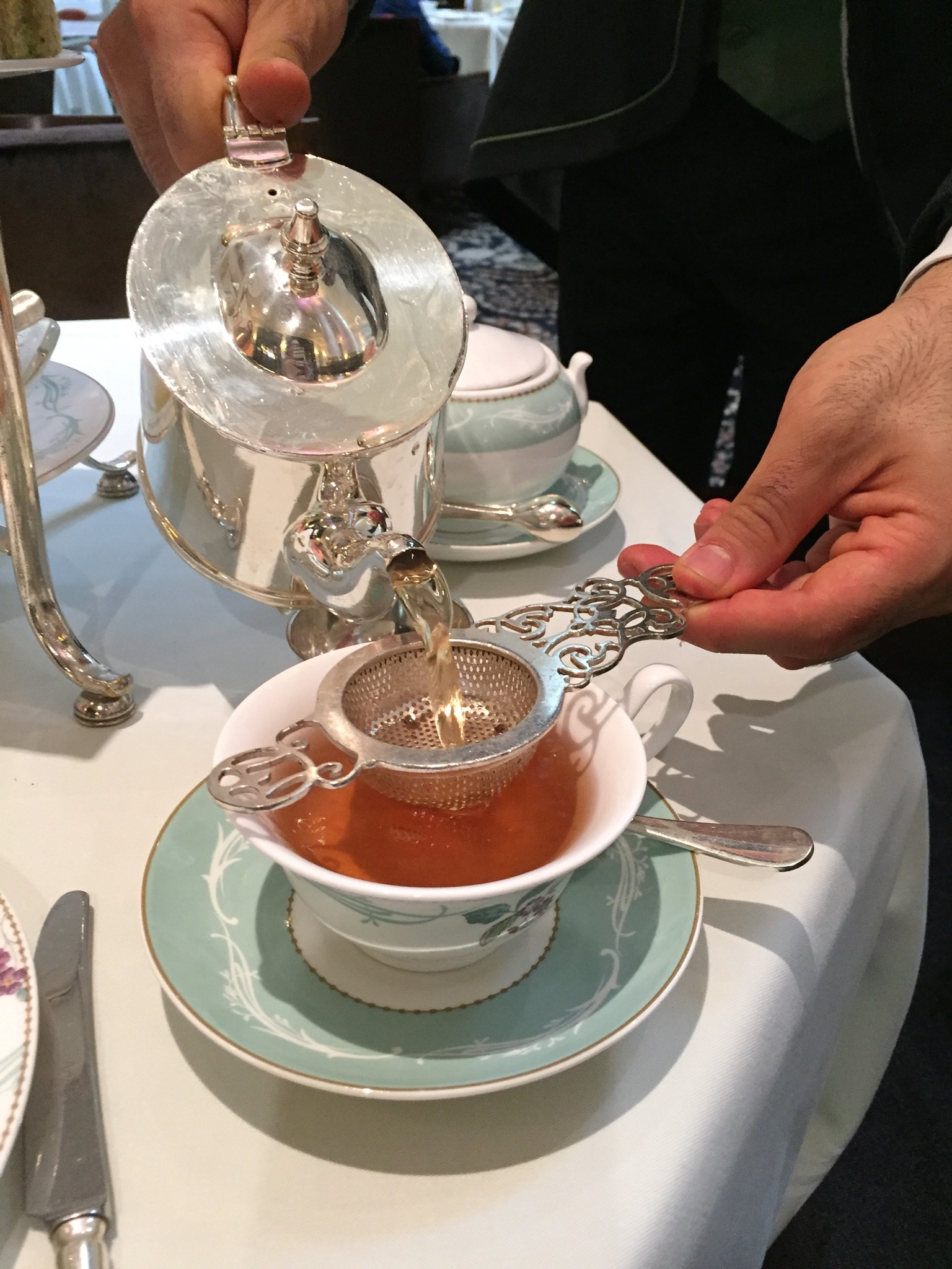 Afternoon Tea The Ritz vs The Savoy  At Home With Kayla