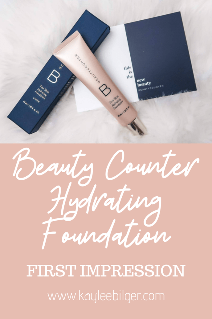 Beauty Counter Hydrating Foundation