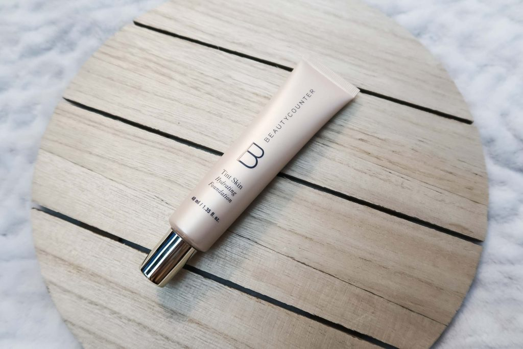 beauty counter hydrating foundation tint skin