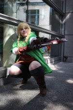 Ashley Oliveira as Linkle from Hyrule Warriors. (Kaylee Fagan)