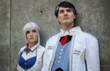 Molli Fagan and Jacob Victoria as Winter Schnee and James Ironwood from RoosterTeeth's RWBY. (Kaylee Fagan)
