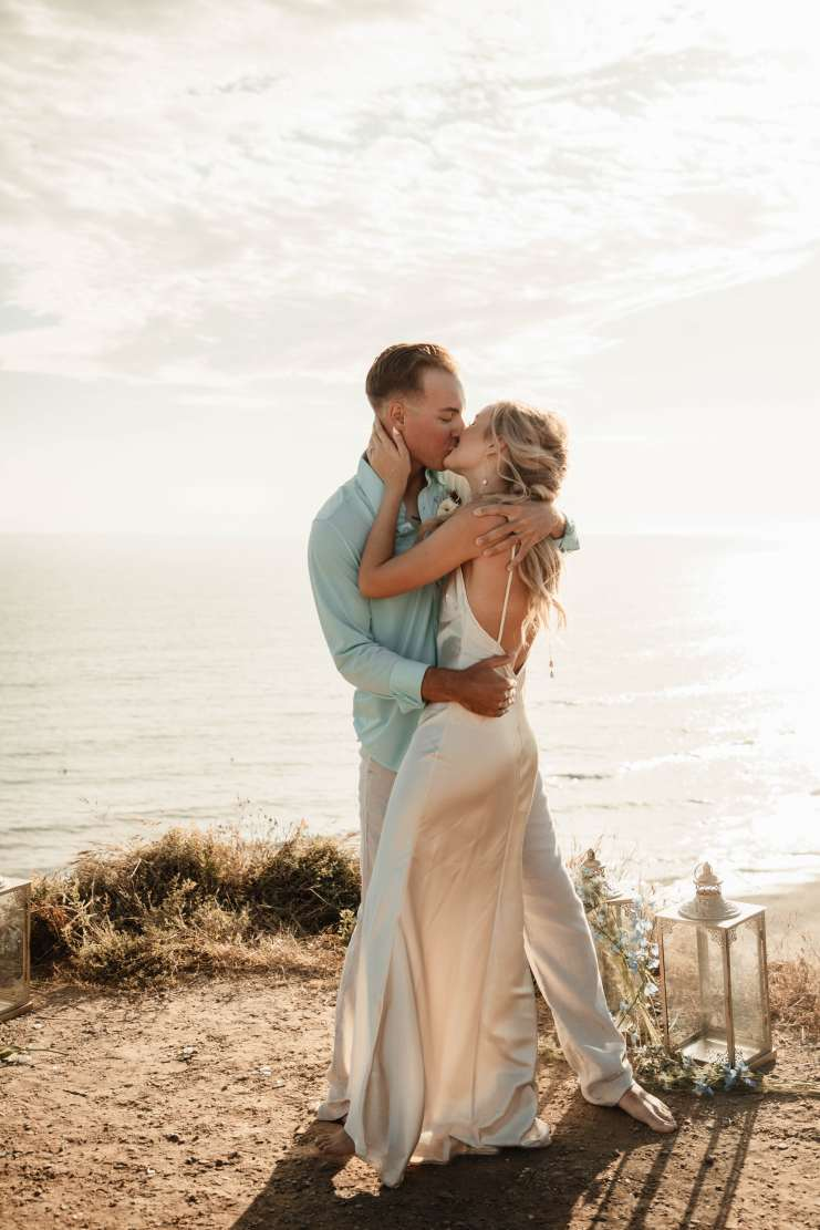 Kayla + Brandon Teal