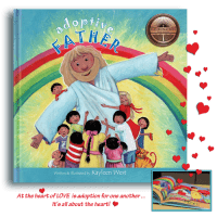 At the heart of LOVE is adoption for one another. It's all about the HEART! Adoptive Father picture book shortlisted - Caleb Awards for faith inspired writing. Bronze Medal Winner - Illumination Book Awards for picture Book