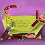 FAQ Children's illustrators and their job. Q& A with Kayleen West