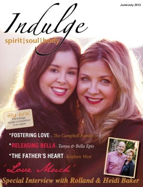 Indulge Magazine feature article: The Father's Heart