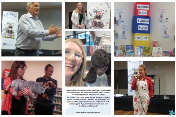 Children's education. Casy-Cardinia Library Corporation Literacy Expo.