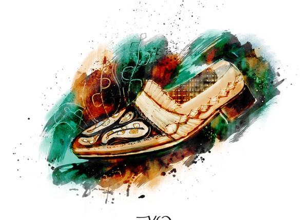 Fashion Magazine illustration: Shoes