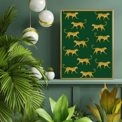 Cheetah Wall Print