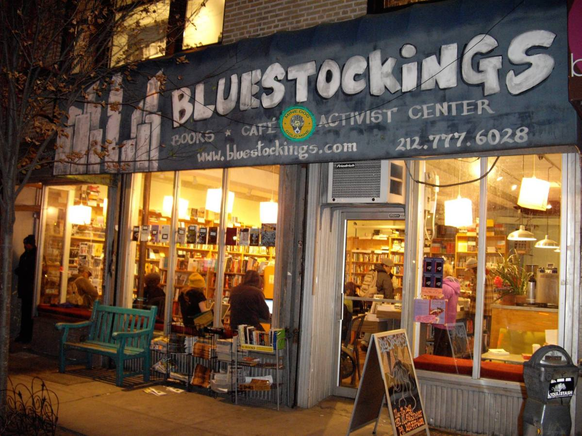 Bluestocking Books, Cafe, Activist Center in Brooklyn