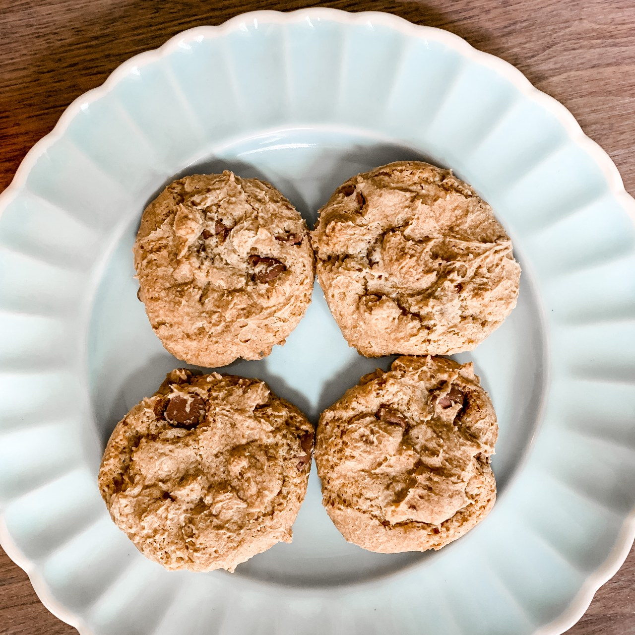 The 9 Trys Chocolate Chip Cookies