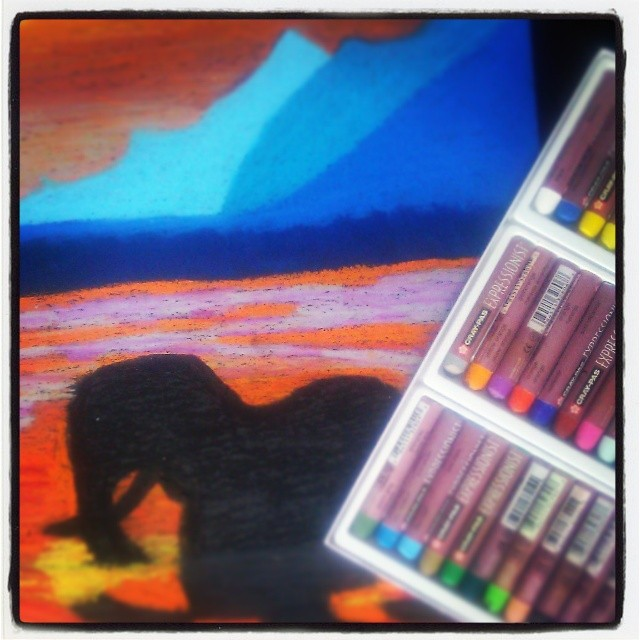 oil-pastel
