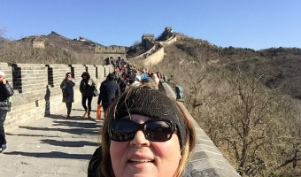 China Day 2: Great Wall and Cloisonne