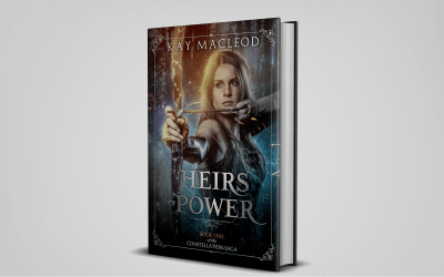 New Cover for Heirs of Power!