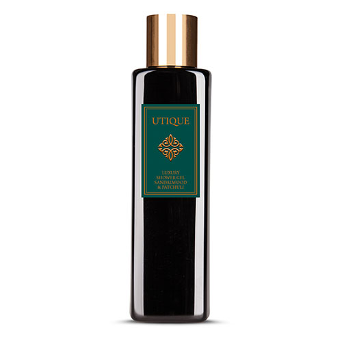 Sandalwood & Patchouli Utique Luxury Shower Gel
