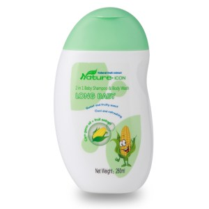 Longrich long baby 2 in 1 Baby Shampoo & Body Wash