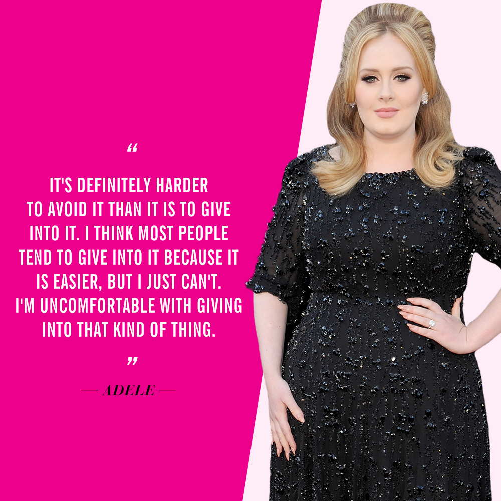 Celebrities Who Dislike Social Media | Adele
