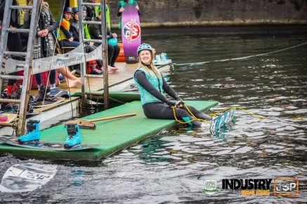 Kay from Kay Ransom Photography Competing in a wakeboarding