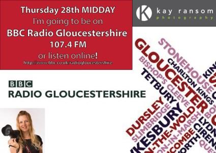 Kay Ransom Photography BBC radio appearance