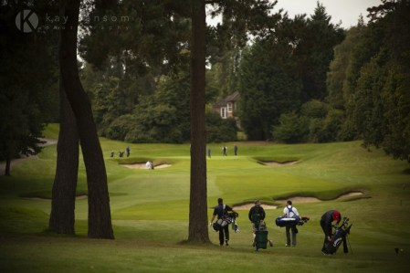 Commercial photography - Wentworth Golf Course