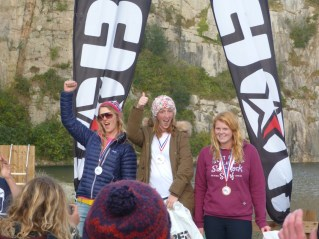 Competing in amateur wakeboarding in Cornwall 2nd place!