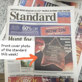 The Wilts and Glos Standard Front Cover