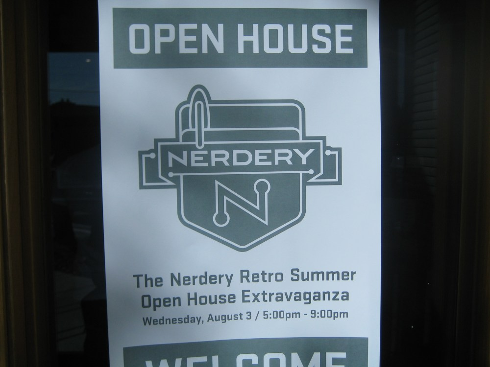 The Nerdery Retro Summer Open House Extravaganza!!! (1/6)