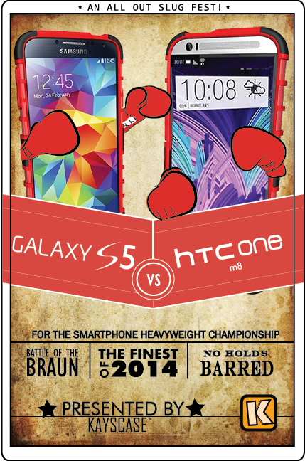 The Samsung Galaxy S5 vs. The HTC One M8 (1/6)