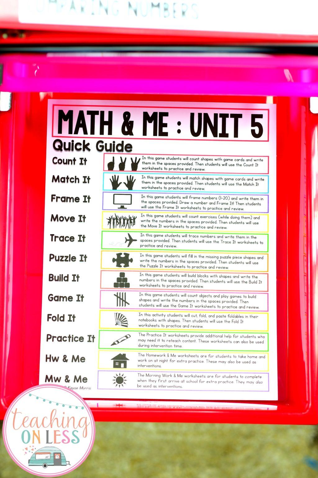 Comparing Numbers In Kindergarten Math Kayse Morris
