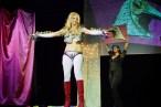 Baltimore burlesque performer Kay Sera in Barbarellesque
