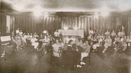 1934 Residence Hall Lounge