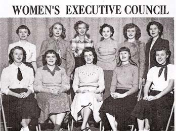 1950 Women's Executive Council