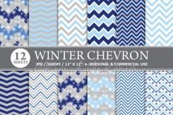 Winter Chevron