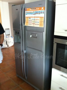 Big German fridge