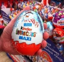 Giant Kinder Eggs