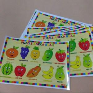 puzzle buah seru cetak 300x300 - Cara Membuat Puzzle Stiker