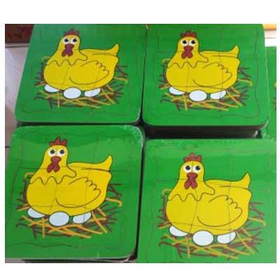 Pertumbuhan Ayam - Puzzle Pertumbuhan Ayam