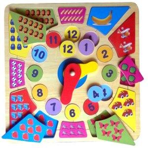 Puzzle Jam Besar - Dirumah Aja Belanja Online Dapat Diskon 30% Mainan Anak