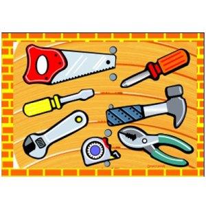 alat tukang - Puzzle Alat Pertukangan